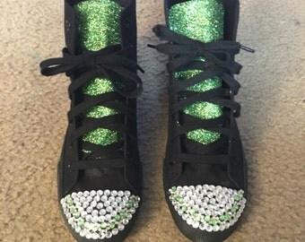 Glam bling sneakers