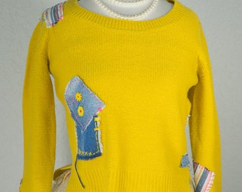The Canary (Yellow Knit)
