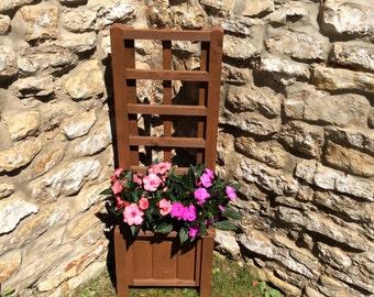 Trellis Planter, wooden planter, outdoor planters, garden planter (Free Delivery)