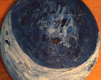The Ocean Blue 6/10 Painted on 78 vinyl