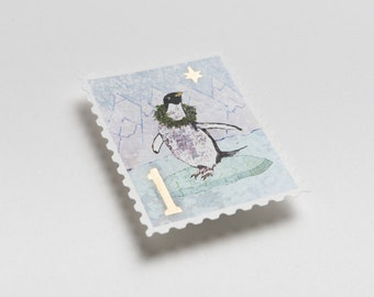 2015 North Pole First Class Stamp