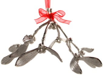 Pewter Mistletoe