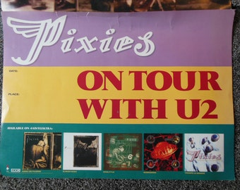Pixies Promotional Posters