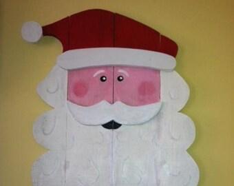 """Big Santa Face  21""""x 18"""""""