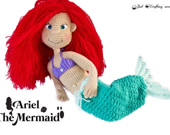 Ariel the mermaid crochet pattern