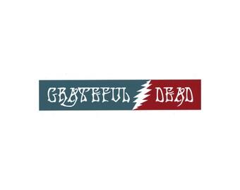 "Grateful Dead Sticker - 9"" Wide"