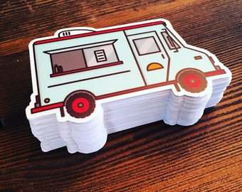 Taco Truck Die-cut Sticker