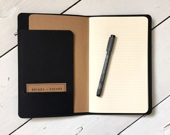 Leather Moleskine Journal Notepad