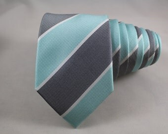 Mint Chocolate Chip Silk Tie