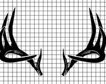 Deer Rack SVG/DXF/download for Cricut and Silhouette