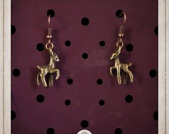 FAWNS earrings bronze BOB010