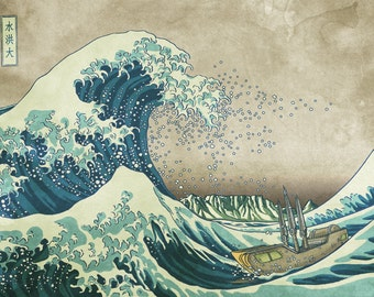 The Great Wave of Cape Town
