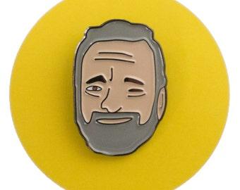 Stephen Sondheim enamel lapel pin