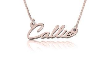AMORSITA Name Necklace