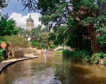 San Antonio River Walk Photographic Print