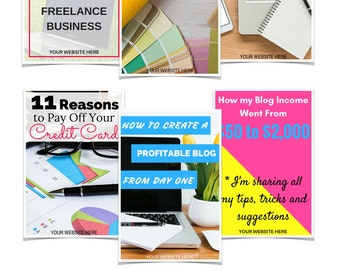 Custom Pinterest Pin Graphics - Designed for Bloggers and Websites