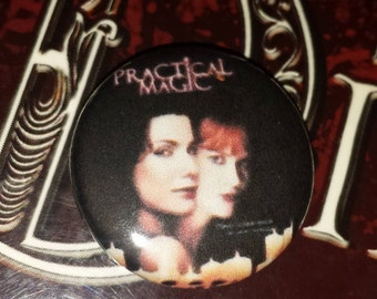 Practical Magic 1 inch pin button