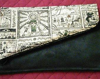 Legend of Zelda two-tone clutch purse