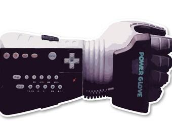 Nintendo Power Glove Sticker / Decal