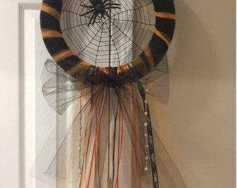 Spider Web Dream Catcher Wreath