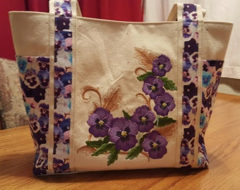 Pansies Handbag