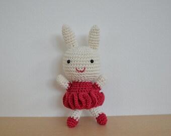 Crochet baby girl bunnies / Amigurumi baby girl bunnies / Baby girl bunnies / Stuffed baby girl bunnies/Easter bunnies