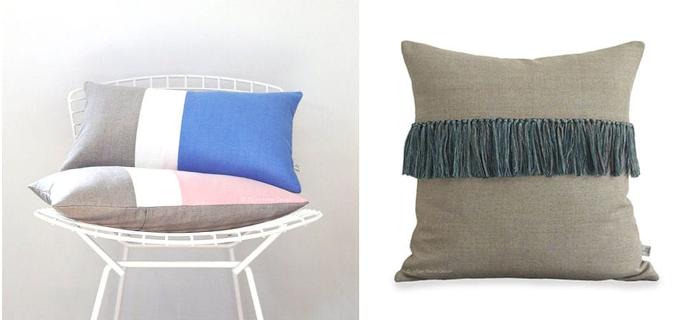 Decorative Pillow Trends 2016 : Tips for Selling Home Decor on Etsy