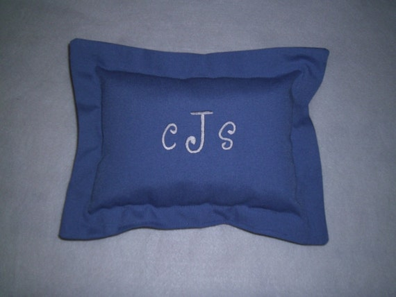 Toddler Monogram, Personalized,  Pillow-Grandma's House-Travel Pillow, Baby Pillow, Crib Pillow, 9x9""