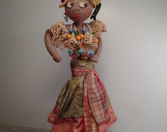 Fun Island Girl Doll with Fruit Headdress