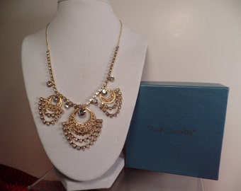 "Sarah Coventry ""Victoria"" Necklace c.1976-Hostess Gift"