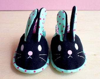 Elastic Baby Booties - Chubby Bunny 14