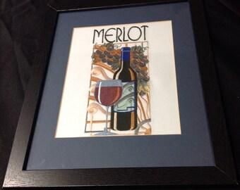 Art Deco Merlot