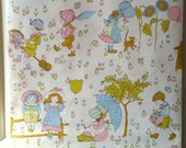 RESERVED     Vintage Childrens Wallpaper Images