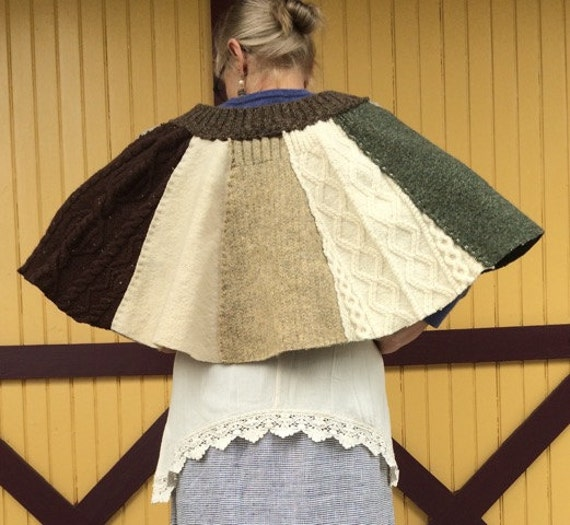 Country cape fisherman wool by