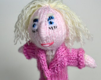 Mary Berry style Finger Puppet