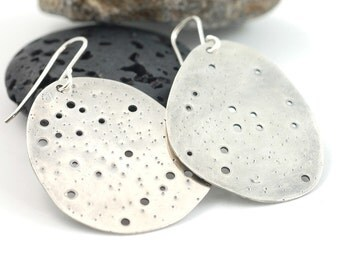 Constellation Design Earrings in Recycled Sterling Silver - Custom Order Gift for Birthday - Zodiac Signs - Star Gazer - Astronomy Lover