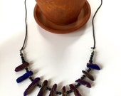 RESERVED!!! Magical aura crystal quartz necklace!