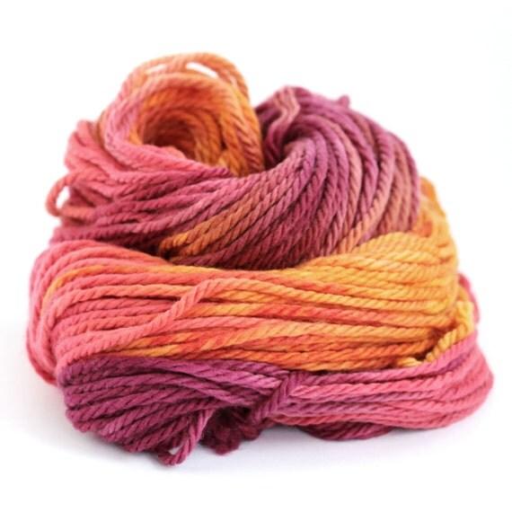 Knitting Wool Uk Only : Handdyed chunky wool bulky superwash merino yarn