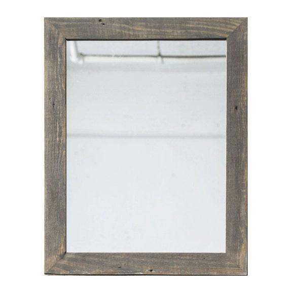 Reclaimed Wood Mirror Tall Vanity Mirror Bathroom Mirror