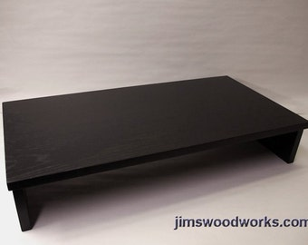 Jims Woodworks Usa Mto Made To Order Black Tv By Jimswoodworks