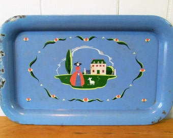 vintage southern belle tray