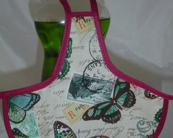 Butterfly Kitchen Decor Dish Soap Apron Bottle Cover Wrap Staffer Party Favor Lg