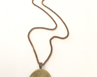 Add Solid Brass Chain with brass clasp - 16 inches - 18 inches