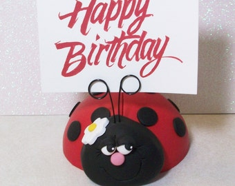 Ladybug Cake topper: Ladybird cake topper or centerpiece.