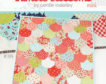 MINI Clambake quilt pattern from Thimble Blossoms - charm pack friendly