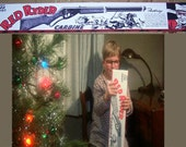 "A Christmas Story""  RED RYDER BOX and paper target reproductions designed specifically for the movie"