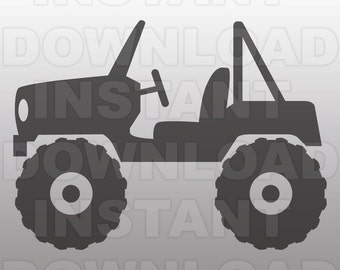 Jeep SVG File,Wrangler SVG File,Off Road SVG File-Cuttable File-Vector Clip Art for Commercial & Personal Use-Cricut,Cameo,Silhouette,Vinyl