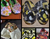Adorable Baby Shoes, 6-15 months. Many to choose from.