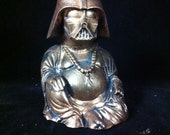 Bronze Darth Vader Buddha  Statue original Darth Buddha Sculpt and cast