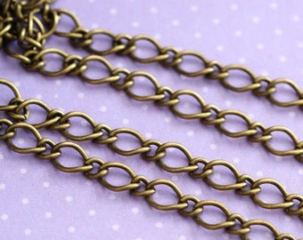 LeadFree 10 Feet Antique Bronze Mother-Son Chains CHSM021Y-AB